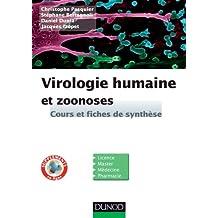 Virologie humaine et zoonoses : Cours et fiches de synthèse (Sciences de la vie) (French Edition)