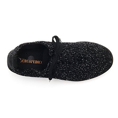Arcopedico 1151 Ls Oxfords Damesschoenen Zwarte Sterrennacht