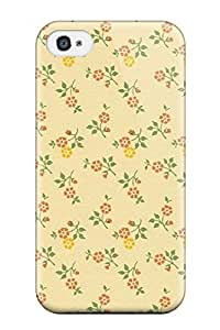 Excellent Design Best Carta Varese Yellow And Orange Flower Case Cover For Iphone 4/4s