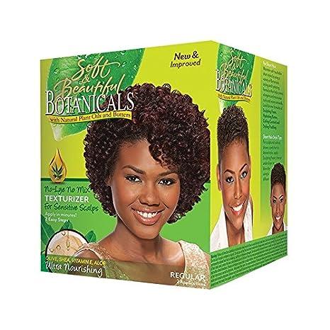 Soft & Beautiful Botanicals, Relajante del cabello - 1 kit 284