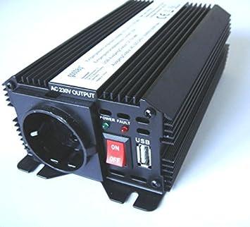 1da8dc2156a66e Convertisseur de tension   inverseur 12 V   230 V - 300 600 Watt avec