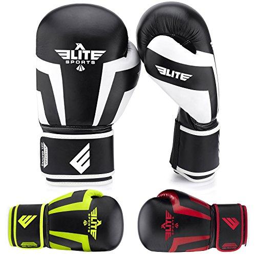 Elite Sports NEW ITEM Standard Kids Kickboxing, Muay Thai Sparring Training Boxing Gloves