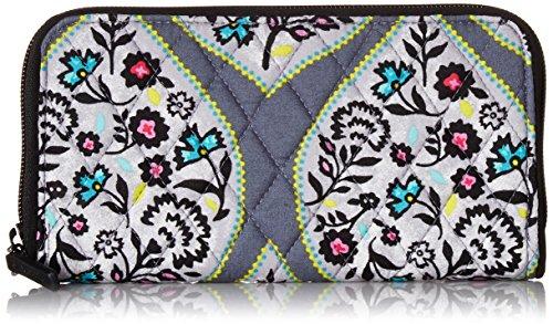 Heritage Leaf - Vera Bradley Women's RFID Georgia Wallet-Signature, Heritage Leaf, One Size