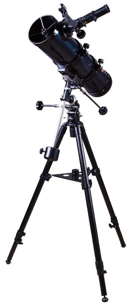 Levenhuk Strike 100 Plus Newtonian Reflector Telescope with Accessories and Telescope Case for Astronomical Observations in The Countryside by Levenhuk