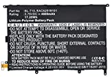 Synergy Digital Battery Compatible with LG BL-T10 Tablet Battery - (Li-Pol, 3.75V, 4600 mAh)