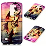 LG K8 Case, LG Escape 3 Case LG Phoenix 2 Case Firefish Clear TPU Durable Bendable Shock Absorption Bumper Anti-Slip Scratch Resistant Case for LG K8/LG Escape 3/LG Phoenix 2 - Chimes