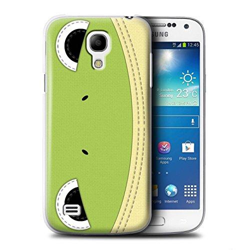 Coque de Stuff4 / Coque pour Samsung Galaxy S4 Mini / Grenouille Design / Cousu des Animaux Effet Collection