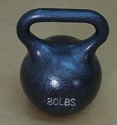 80 lb Wide Handle Kettlebell