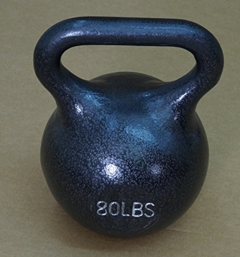 80 lb Wide Handle Kettlebell by TDS