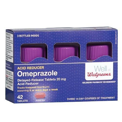 Walgreens Omeprazole Dr 20Mg Tablets 42 ea by Walgreens ()
