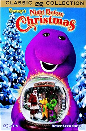 Barney A Very Merry Christmas The Movie Dvd.Amazon Com Barney S Night Before Christmas David Joyner