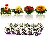 Tea Beyond FLS-3SET-BLF2100 12-Pack Fab Flowering Blooms Tea
