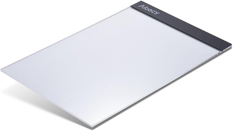 Aibecy B4 LED Leuchttisch Dimmbare Helligkeit USB-betriebenes Artcraft Light Pad Table Copyboard Tracer mit Speicherfunktion f/ür Kinder Studenten K/ünstler Zeichnen Animation DIY Diamantmalerei