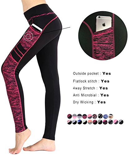 Munvot Women's Active Yoga Running Pants Workout Leggings
