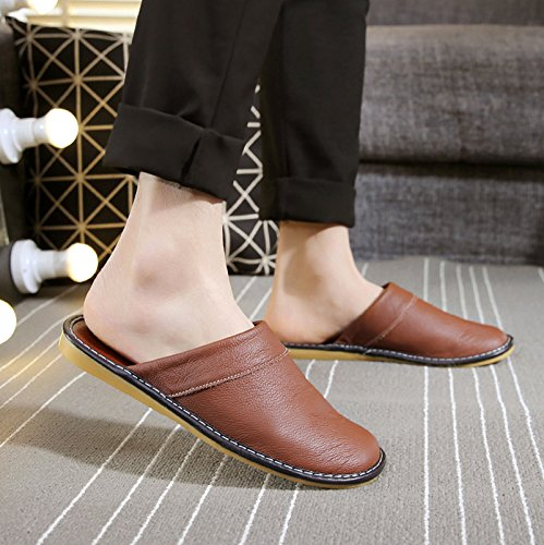 40 Men's Room fankou Slippers Brown a 39 Slippers Couple Spring Stay Fitting Cool Anti Indoor Slip Summer xnHnZ