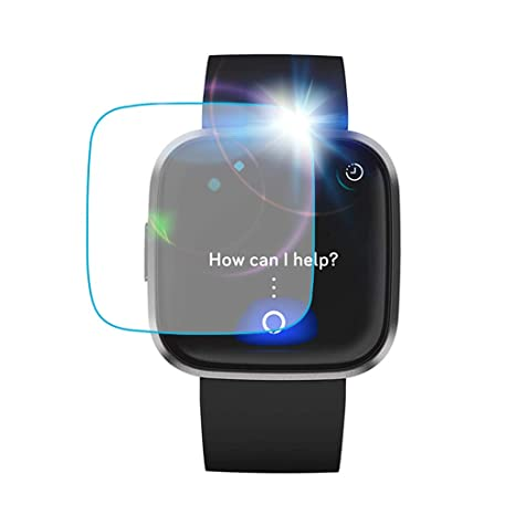 Amazon.com: Film for Fitbit Versa 2 Smart Watch,WIDELY Clear ...