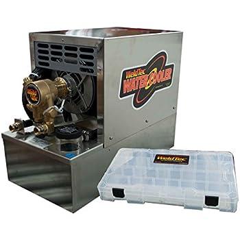 Weldtec C 35-1 Water Cooler, Deluxe, Vane Pump, 115 Volt, 3 Gal Tank