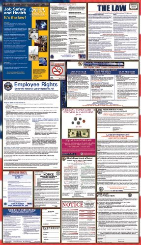 Amazon illinois federal combination labor law posters w nlra illinois federal combination labor law posters w nlra publicscrutiny Gallery