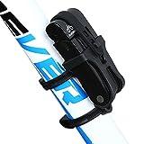 INBIKE Folding Bike Lock Strong Lightweight with Bicycle Mount Bracket Black