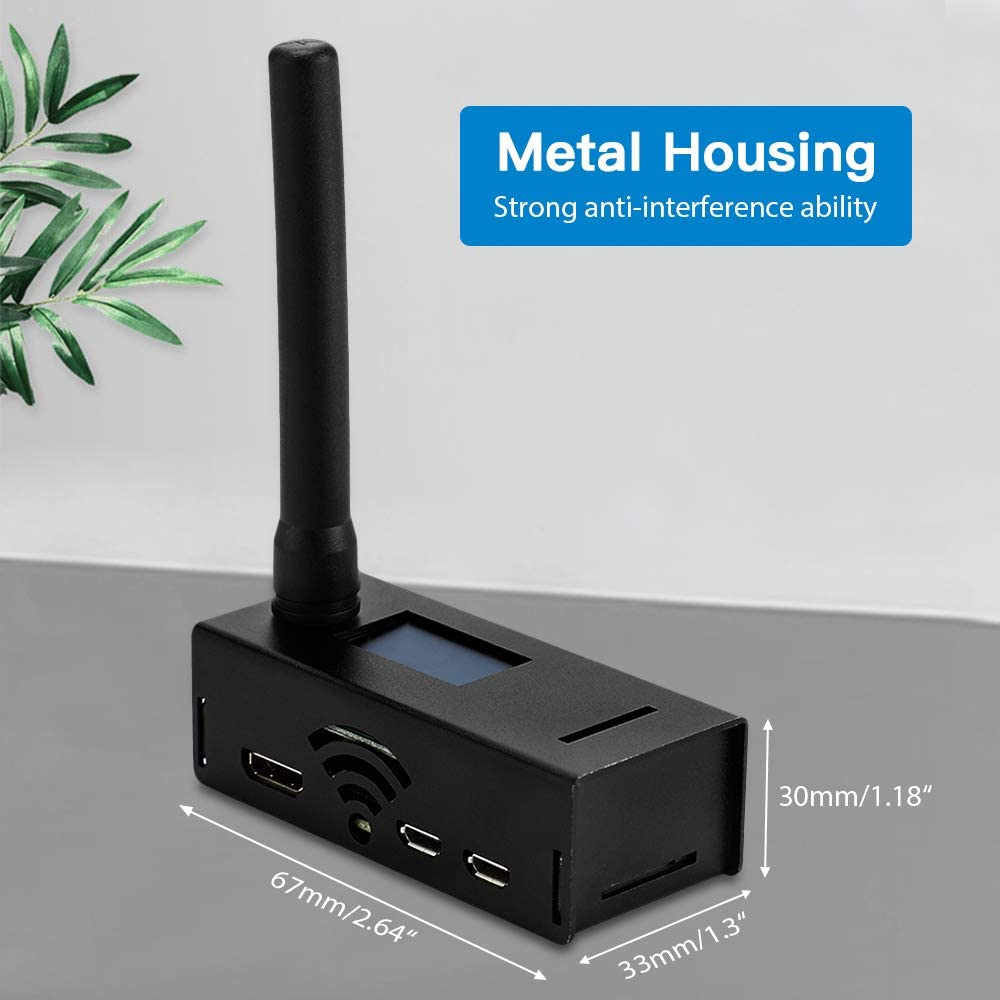 SEESII MMDVM Hotspot Spot Radio Station WiFi Digital Voice Modem Work with UHF/&VHF OLED Display Support for C4FM YSF NXDN DSTAR P25 DMR
