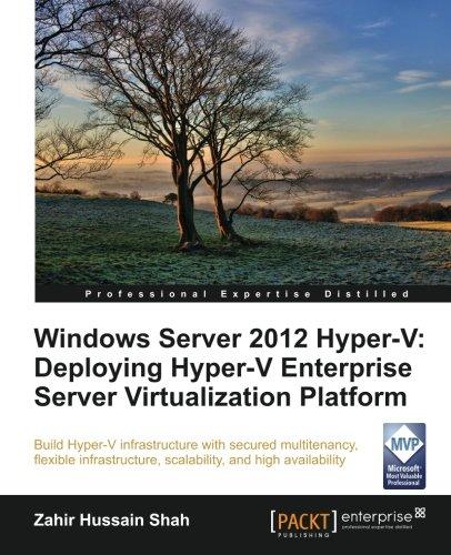 Windows Server 2012 Hyper-V by Zahir Hussain Shah, Publisher : Packt Publishing