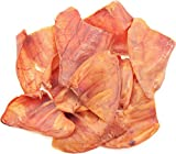 ValueBull Premium Natural Pig Ears Dog Chews 50 Count