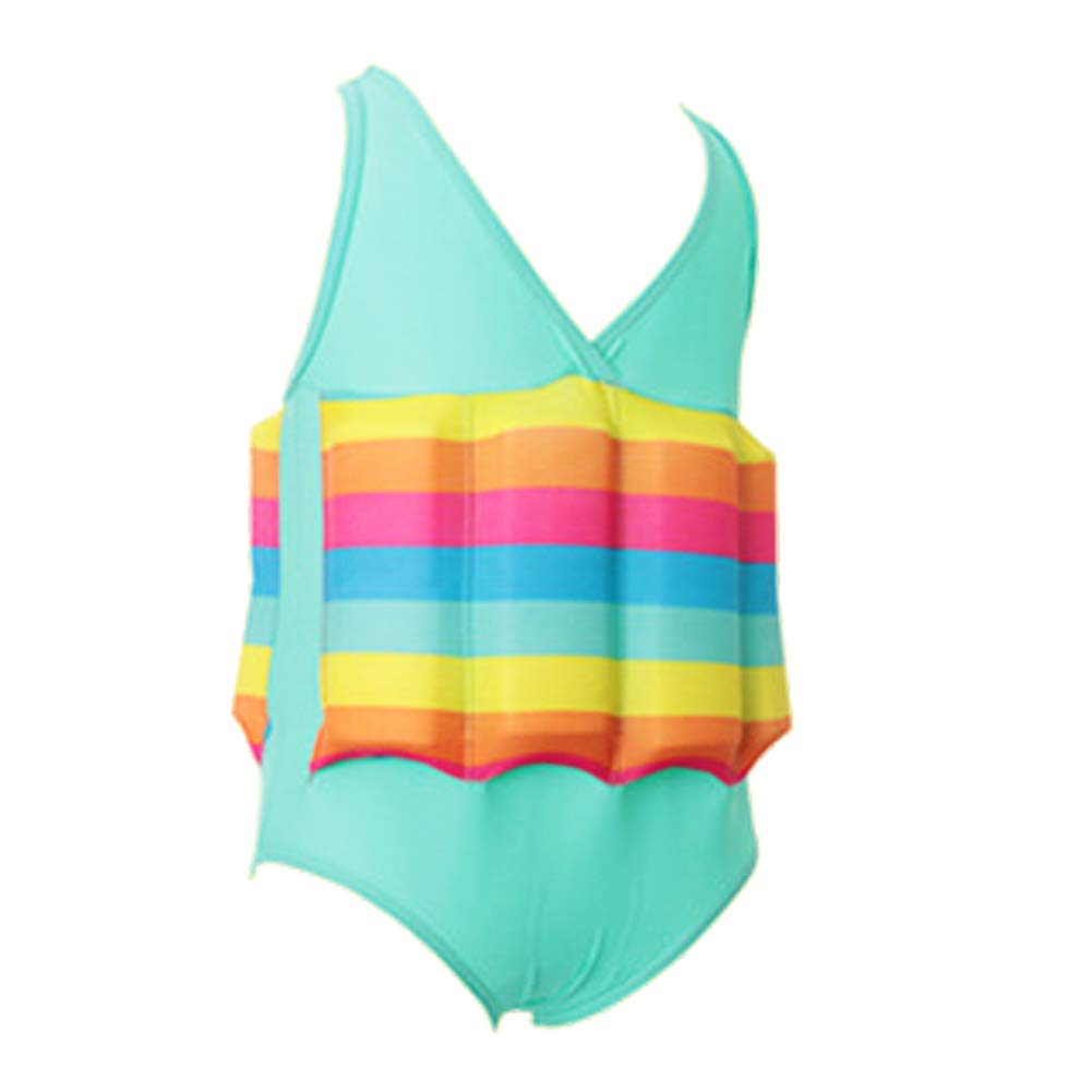IWEMEK Kid Girls Boys Swimwear with Adjustable Buoyancy One Piece Float  Suit Training Vest Learn to Swim Summer Swimming Floatation Costume Safety  Pool Beach Floating Swimsuit Beachwear One Pieces