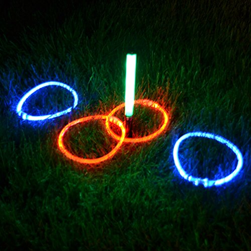 Light Up LED Ring Toss Game - by GlowCity