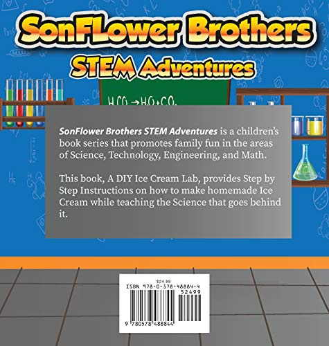 SonFlower Brothers STEM Adventures: A DIY Ice Cream Lab