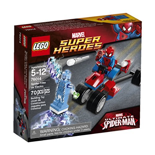 Lego Super Heroes Spider Trike vs. Electro 76014 6062359