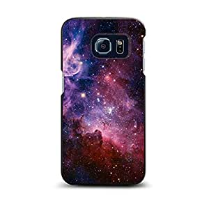 CUSTOM Black Spigen ThinFit Case for Samsung Galaxy S6 EDGE - Purple Pink Carina Nebula