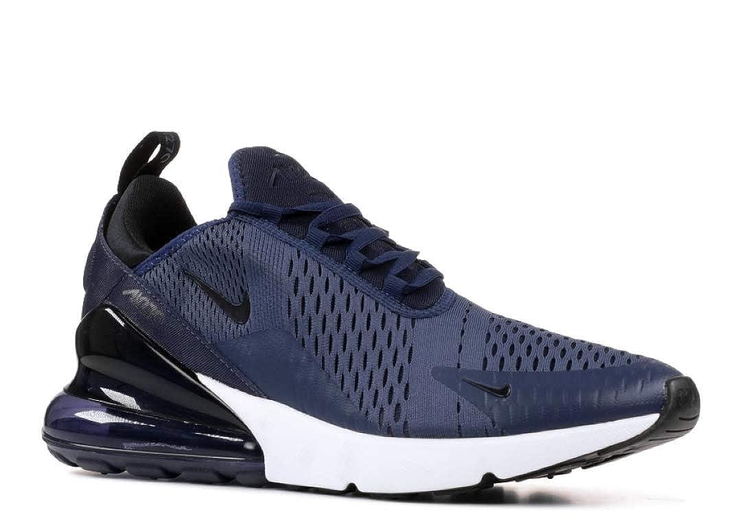 Bleu (Midnight Navynoirblanc 400) Nike Men's Air Max 270 Gymnastics chaussures 45 EU