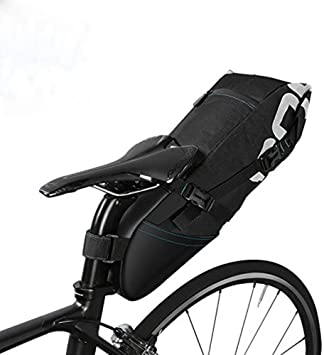 Roswheel 8L/10L Bolsa de sillín alforja para bicicleta Bicicletas ...