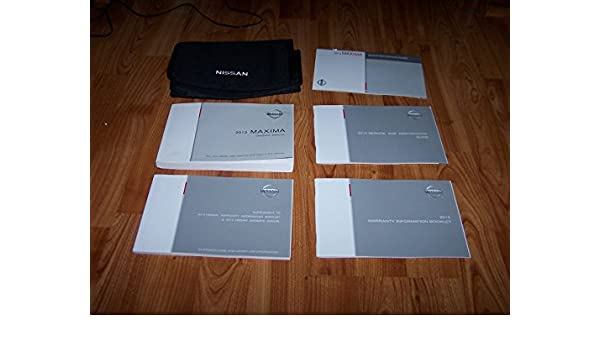 Amazon 2013 nissan maxima owners manual nissan books fandeluxe