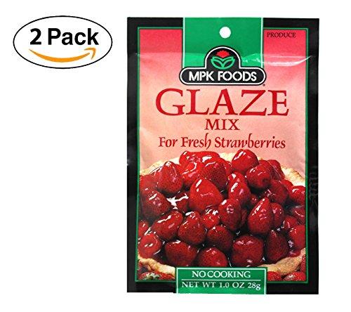 - Strawberry Glaze Mix (Pack of 2)