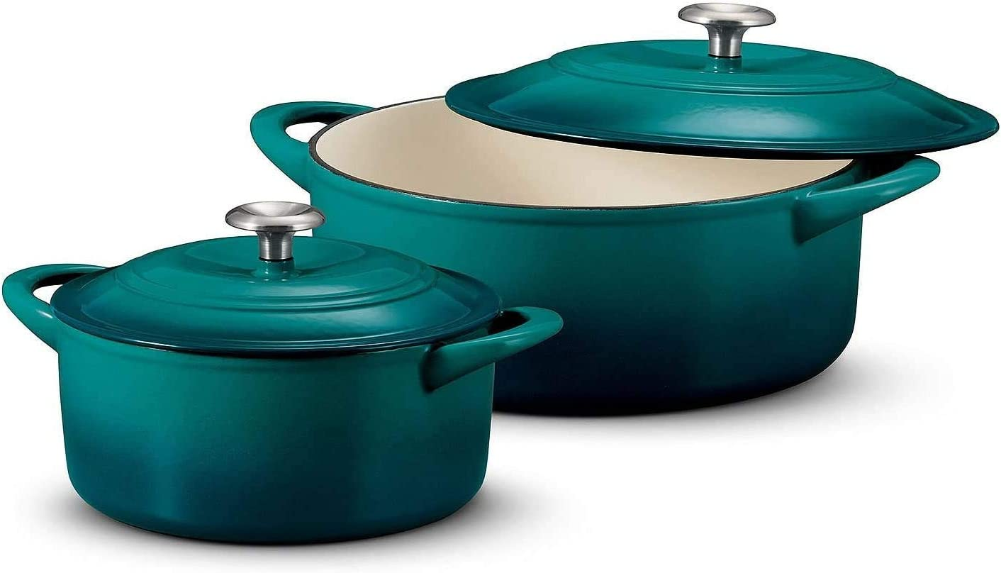 14-qt Dutch Oven with Basket and Stainless Handle