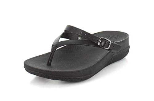 FitFlop Womens Flip Leather Ba...