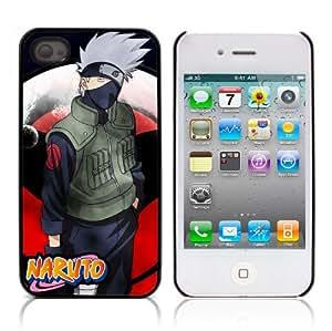 MOBILEONE Apple iPhone 4 / 4S Carcasa Trasera Rigida Aluminio Con 3x Protectores de Pantalla y Lapiz Boligrafo - NARUTO