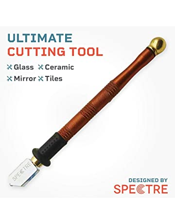 Spectre Tungsten Carbide Tile Glass Cutter Manual Tile Cutter, Iron Handle, Sharp Cutting Blade