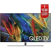 Samsung Flat 75-Inch 4K Ultra HD Smart QLED TV (QN75Q7FAMFXZA) with 1 Year Extended Warranty