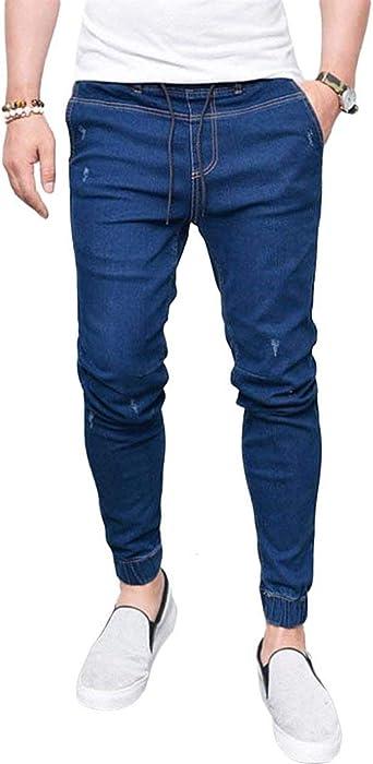 Biran Jeans De Hombre Pantalones De Tres Cuartos En Unico Elastico Denim Chel Stretch Skinny Vintage Pantalones De Mezclilla Pantalones Amazon Es Ropa Y Accesorios