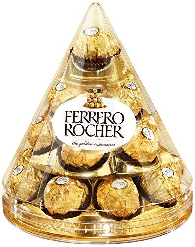 Ferrero Rocher Christmas Cone (1 X 17 Pieces) Ferrero Rocher Christmas