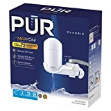 PUR FM-3333 Classic Vertical Water Filtration Faucet Mount, White