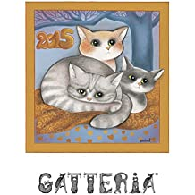 Calendario gatti 2015: illustrato (Italian Edition)