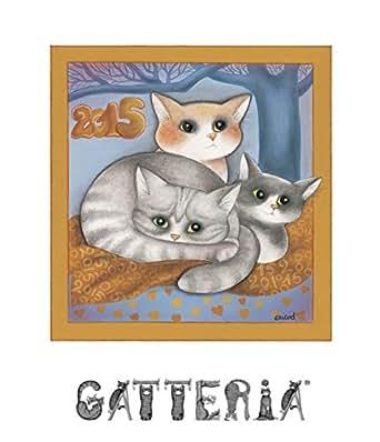 Calendario gatti 2015: illustrato (Italian Edition) - Kindle edition