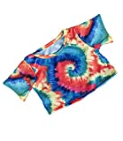 Tie Dye T-Shirt Fits Most 8'-10' Webkinz, Shining Star and 8'-10' Make Your Own Stuffed Animals and Build-A-Bear