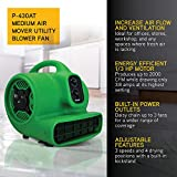 XPOWER P-430AT Medium Air Mover Utility Blower