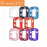 [8 Color Pack] V1take Compatible Apple Watch Case 38mm...