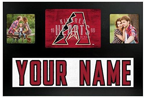 Arizona Diamondbacks MLB Custom Jersey Nameplate and Logo Picture - Plate Picture Diamond Frame