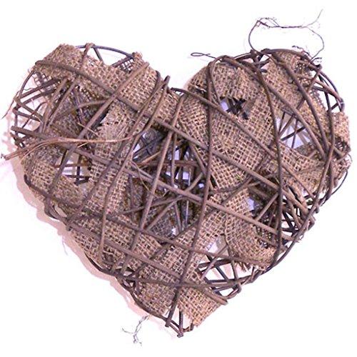 Burlap Heart Decor Wedding Decoration